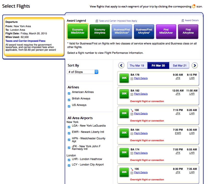 指定單一日期的經濟艙機票(含各航空公司及轉機)