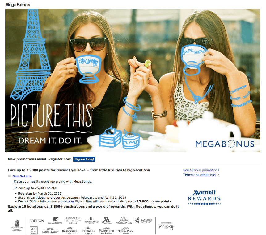 2015 Spring Megabonus 註冊網站