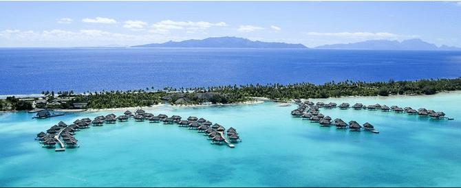 大溪地 Bora Bora 水上屋一晚只要 9000元台幣。別懷疑,千真萬確