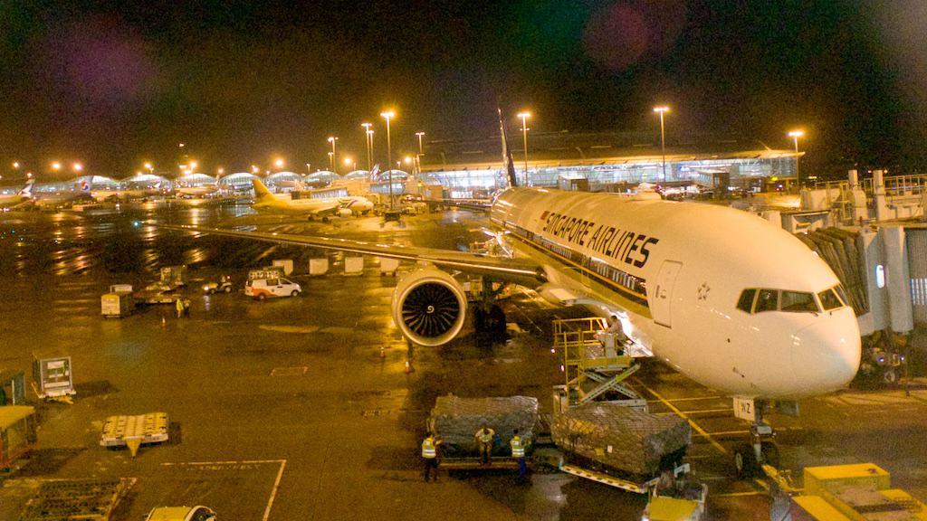 這一次執飛 SQ2 的新整修777-300ER