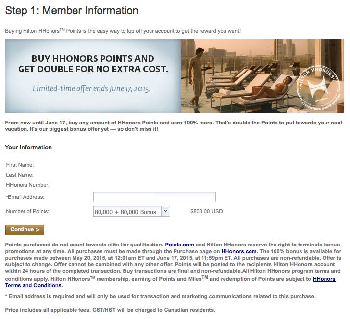 Hilton HHonors 官網特惠賣點到6月17日為止