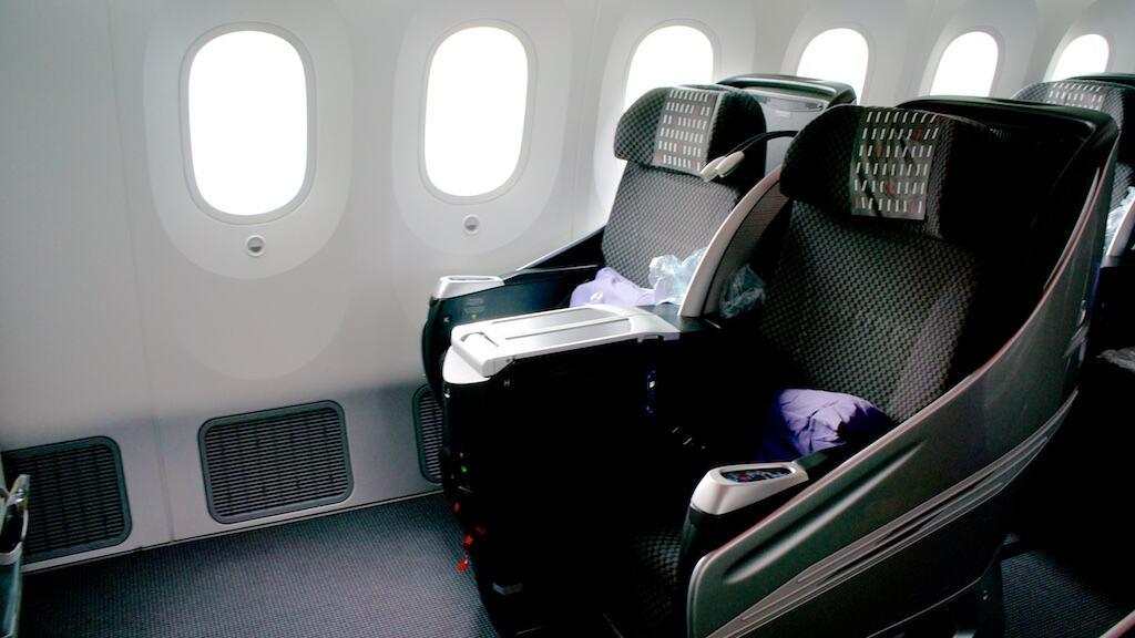 日本航空 B787-800 商務艙