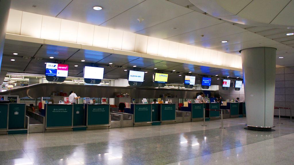 新航在九龍站沒有專屬的預辦燈機櫃台,而是由代理地勤統合辦理