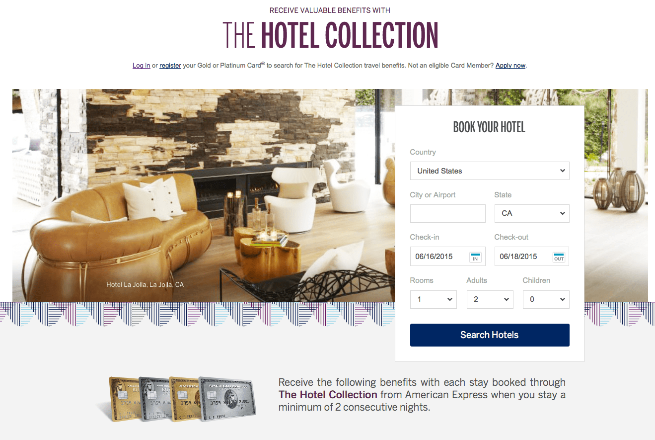The Hotel Collection 訂房網站