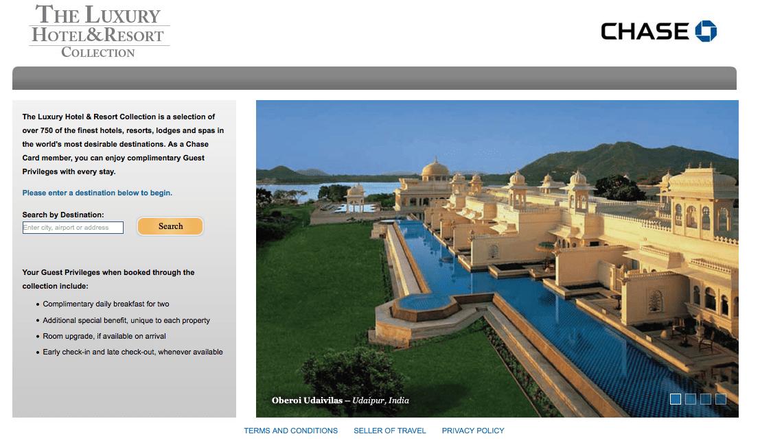 The Luxury Hotel & Resort Collection 訂房官網