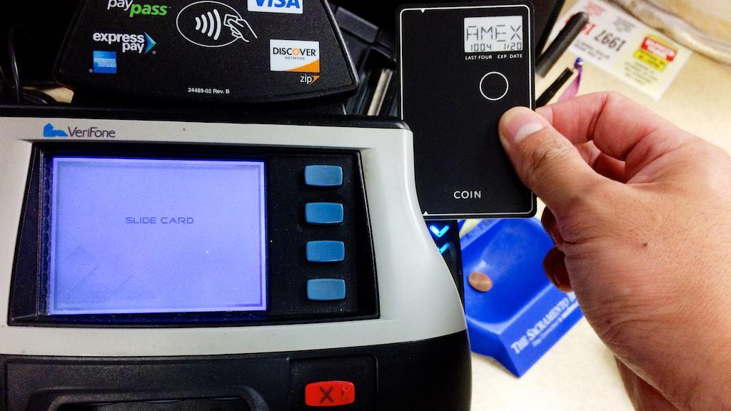 研究生趕緊找了加油站測試一下 Coin 刷卡。當然是成功啦