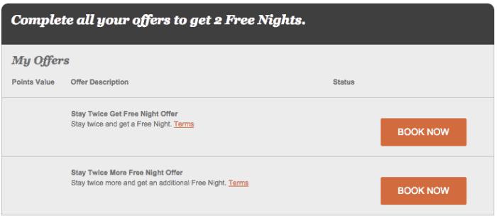 傳說中的新會員 offer,住四個 Stay 可以獲得免費兩晚