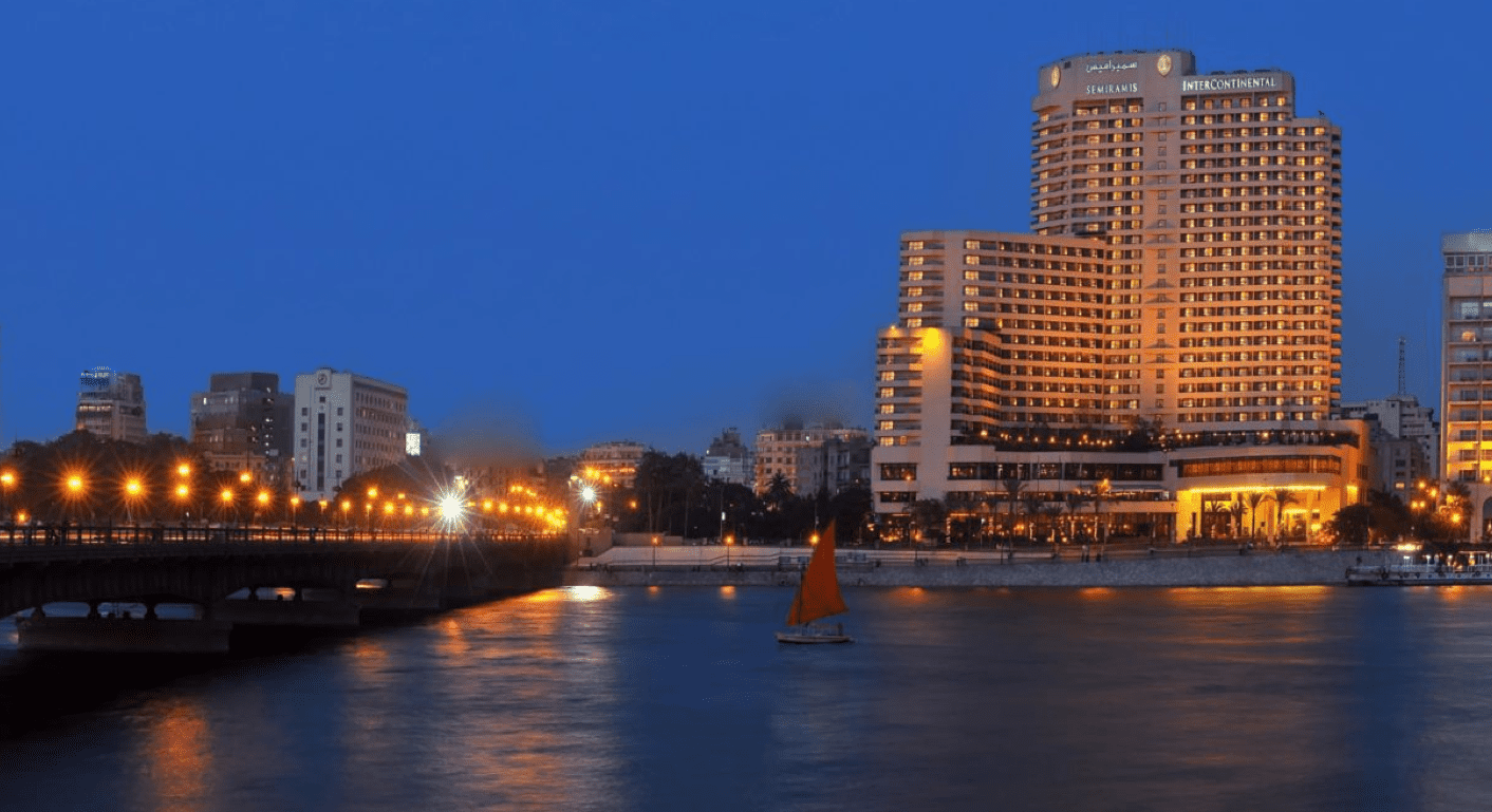 位於開羅的洲際飯店也是這次加入 pointsbreak的飯店