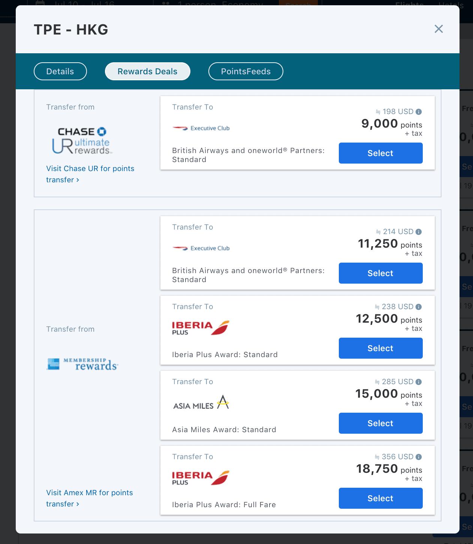 到底要把點數轉到哪一家航空公司才好呢?別急,這邊都告訴你了