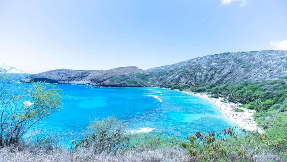 如果夏威夷只能挑一個景點去,那絕對就是恐龍灣了(研究生的點數旅行筆記)