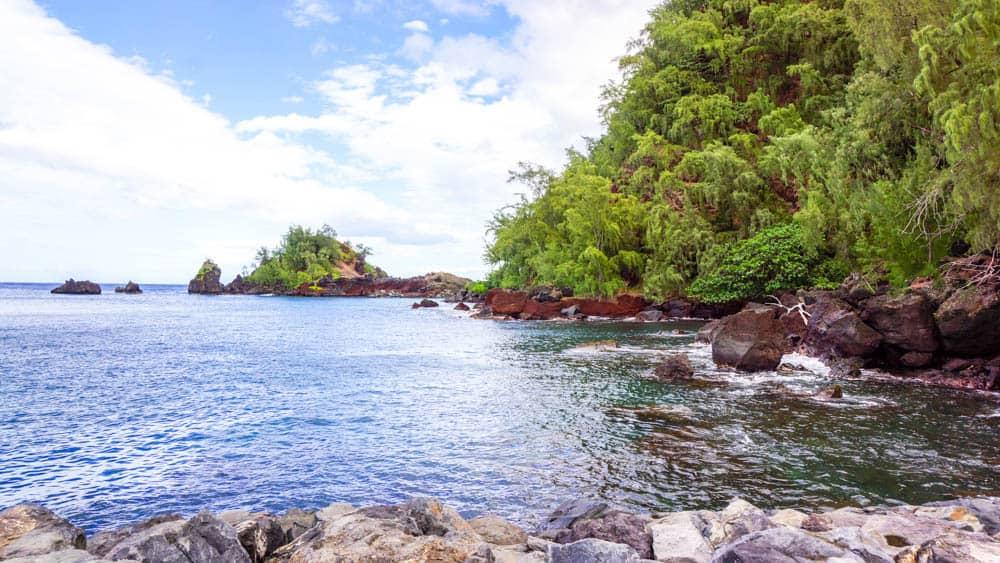 攝於夏威夷茂宜島前往哈那的路上(研究生的點數旅行筆記)