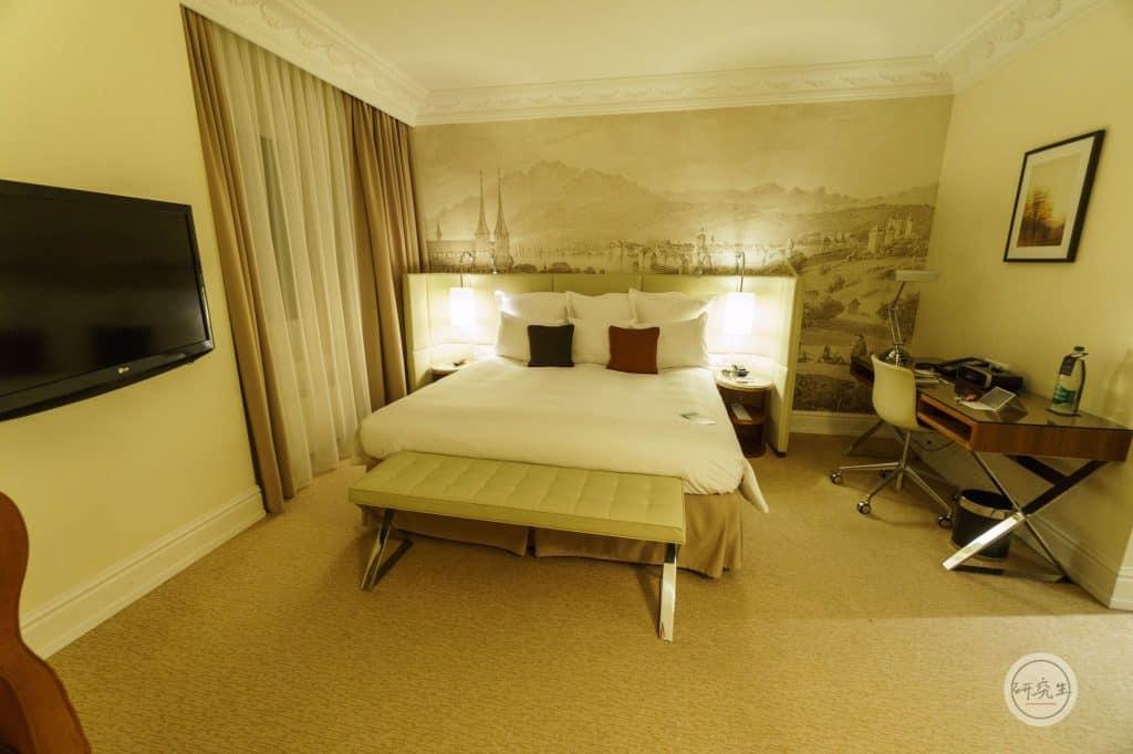 琉森萬麗飯店套房3 (Junior Suite King Bed)|研究生