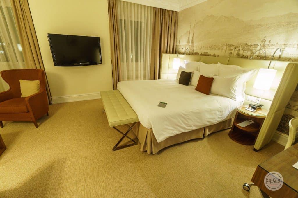 琉森萬麗飯店套房4 (Junior Suite King Bed)|研究生