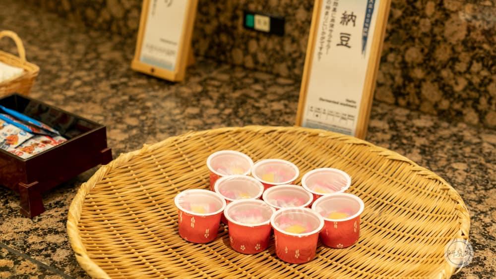 早餐一定學日本人吃一碗納豆(有馬溫泉・兵衛向陽閣|研究生)