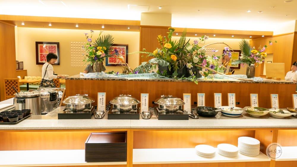 早餐不管是日式還是西式選擇都很多(有馬溫泉・兵衛向陽閣|研究生)