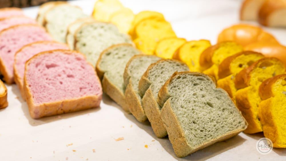 早餐連吐司都有各種選擇(有馬溫泉・兵衛向陽閣|研究生)