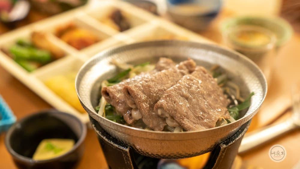 晚餐的神戶牛蒸籠料理(有馬溫泉・兵衛向陽閣|研究生)